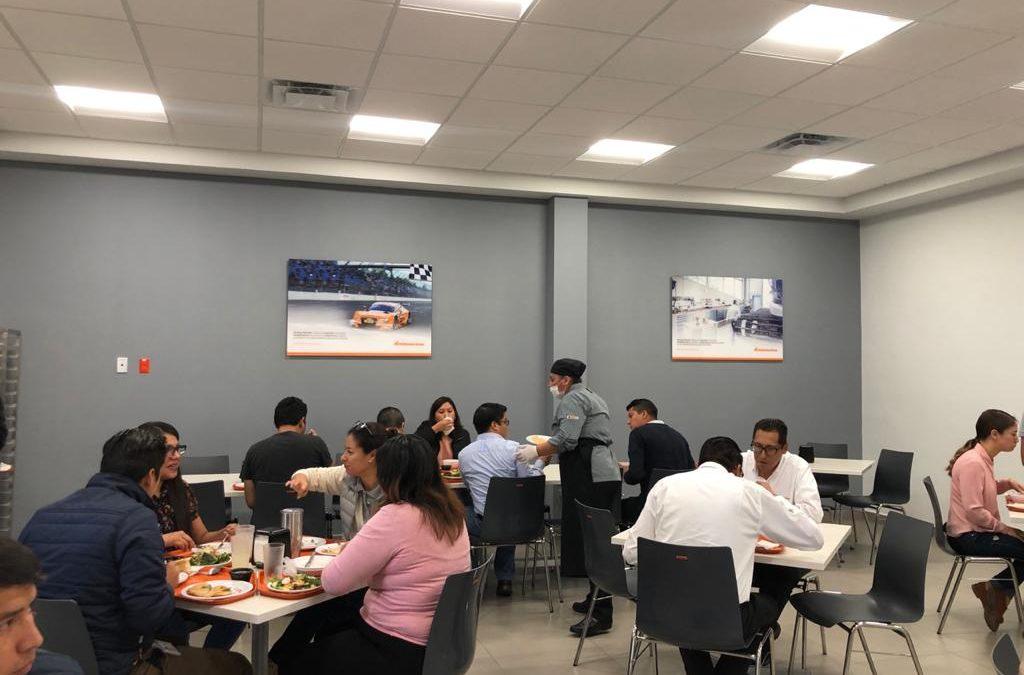 ¿Porque son importantes los alimentos en el lugar de trabajo?